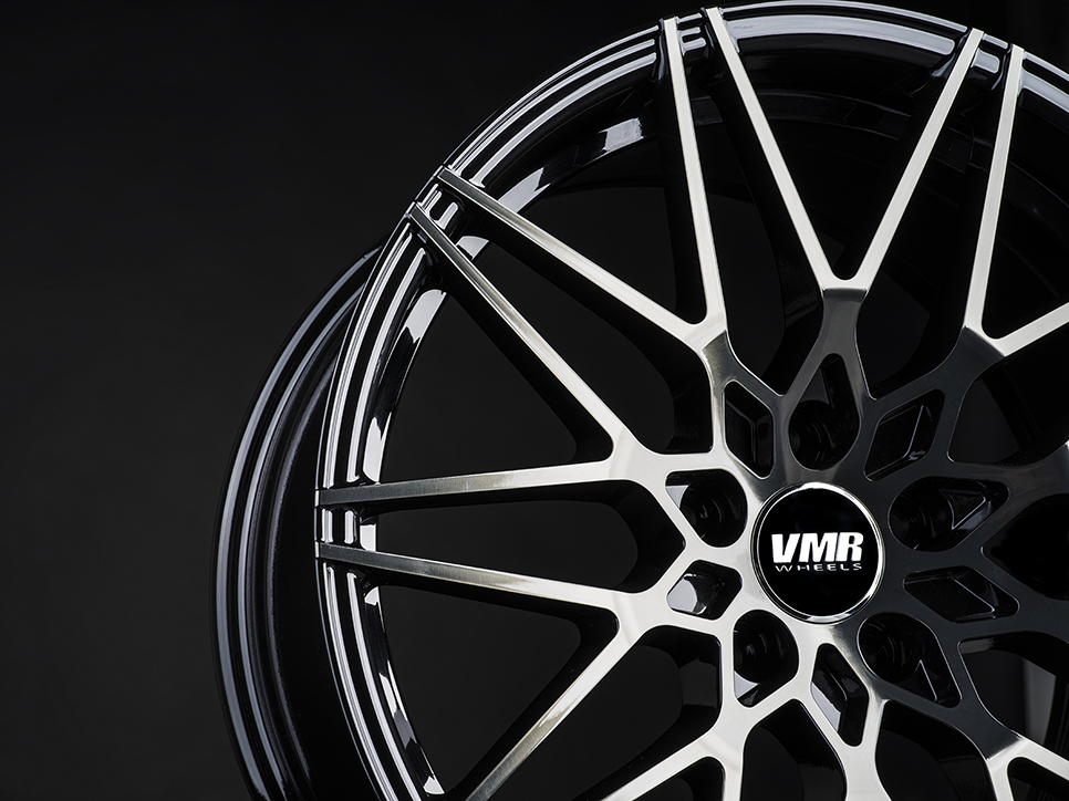 VMR V801 Wheels in Titanium Black Shadow (3)