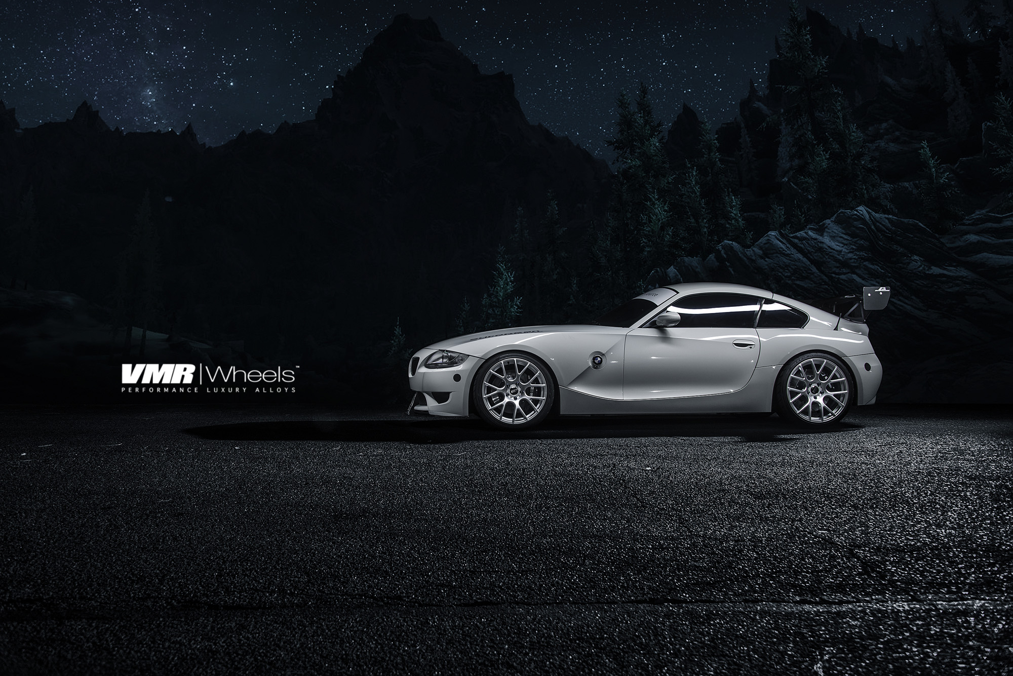 VMR V810 19in Hyper Silver Wheels on BMW E89 Z4M