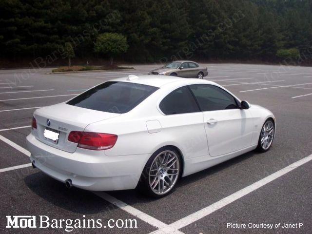 VMR VB3 Super Silver on BMW E92 3 Series