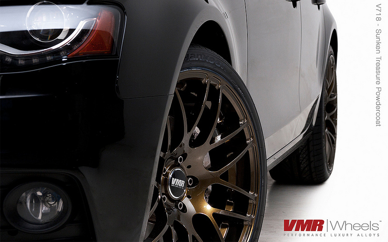 VMR V718 Wheels Sunken Treasure on B8 Audi A4