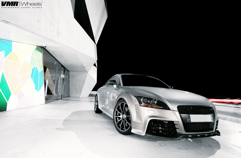 VMR Wheels V701 Advan RS Style on Audi TT