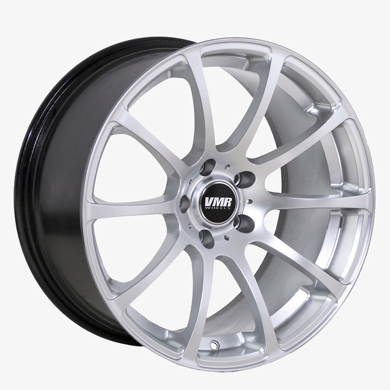 VMR Wheels V701 Advan RS Style Hyper Silver