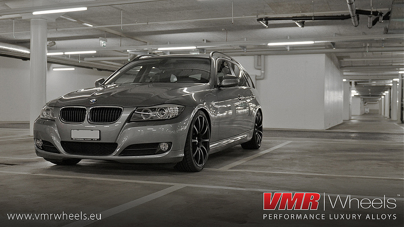 VMR Wheels V701 Advan RS Style Matte Black BMW