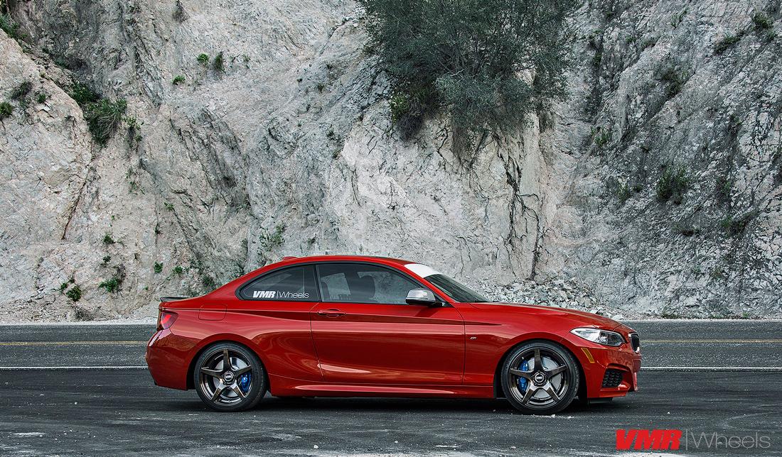BMW M235i Wheels VMR V705 Wheels F22 2-Series 4