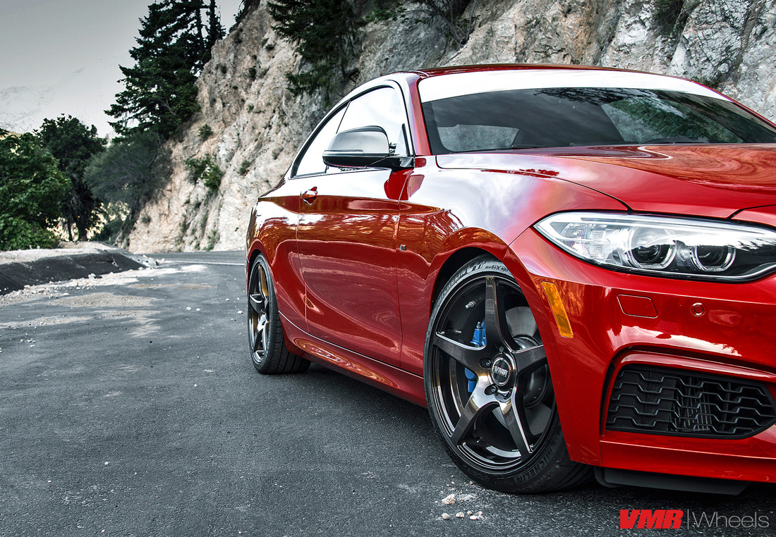 BMW M235i Wheels VMR V705 Wheels F22 2-Series 2
