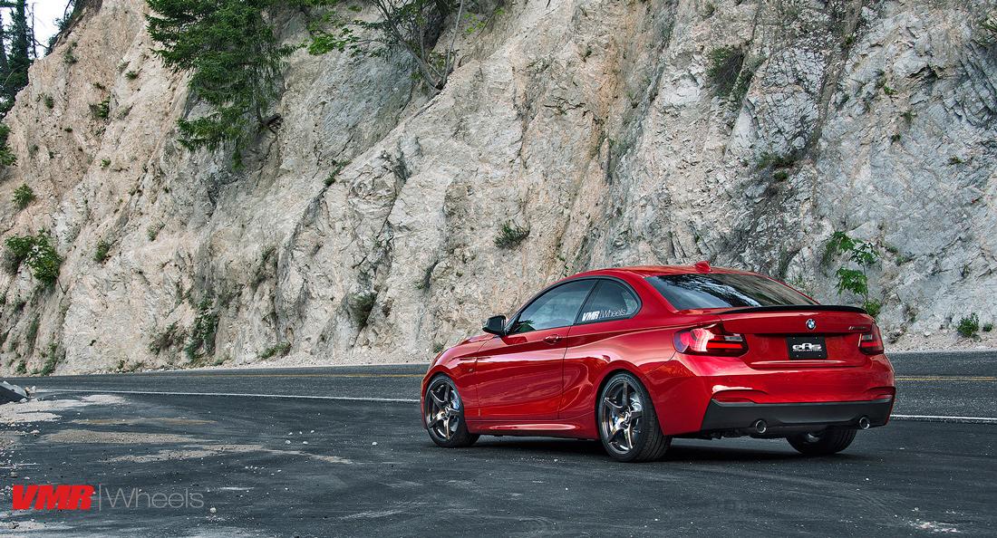 BMW M235i Wheels VMR V705 Wheels F22 2-Series 6