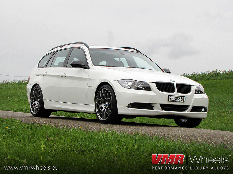 VMR Wheels V710 18inch Non Staggered Gunmetal BMW