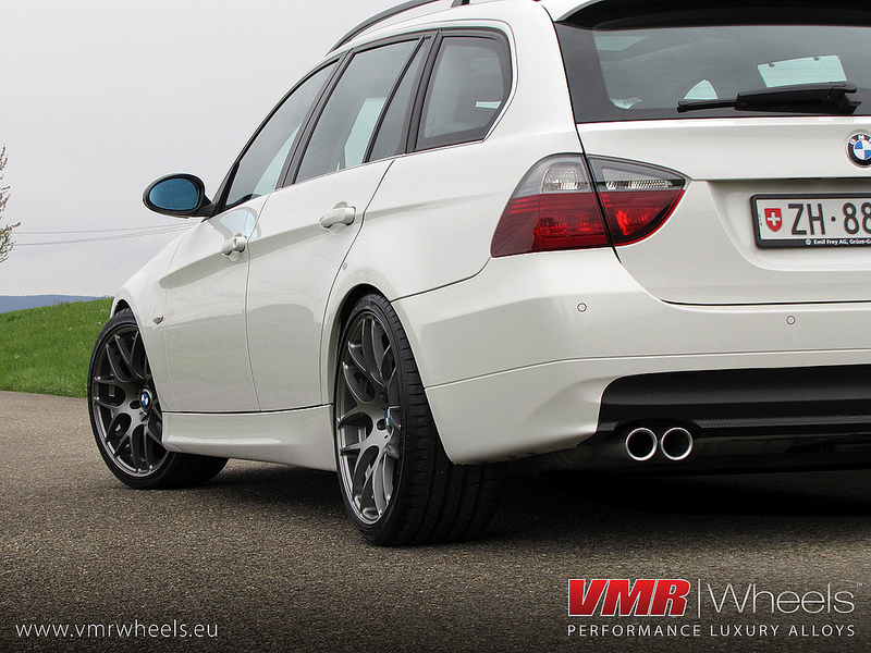 VMR Wheels V710 18inch Gunmetal BMW E91