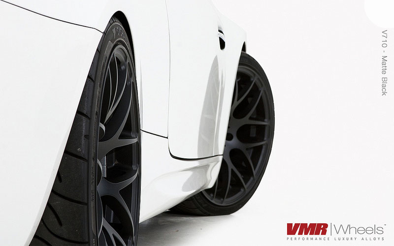 VMR Wheels V710 Matte Black 18inch E92