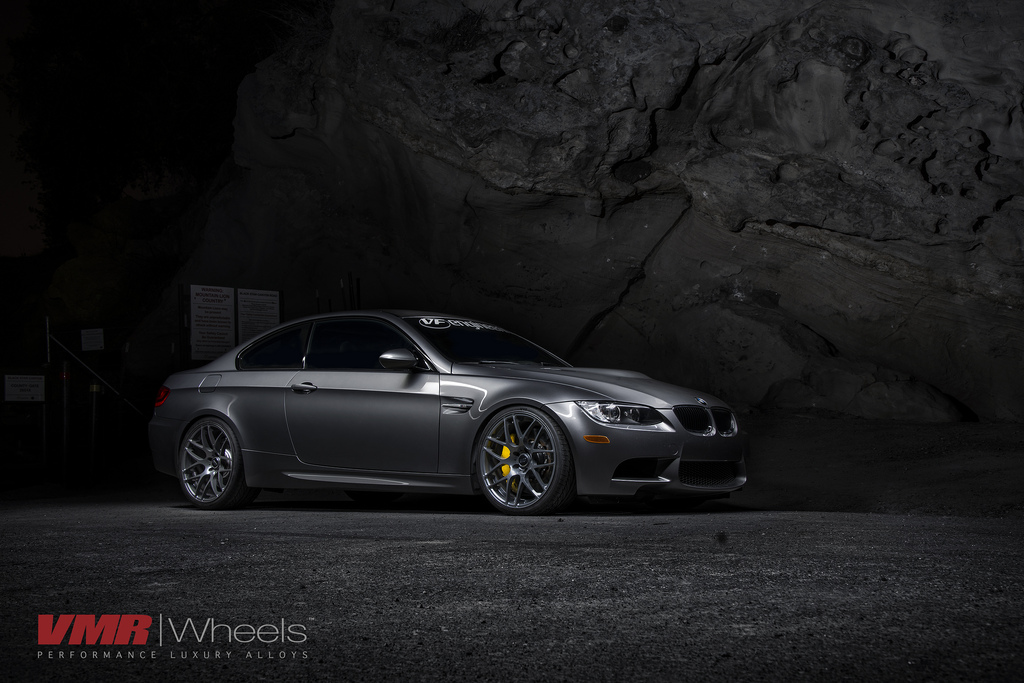 VMR Wheels 18inch Gunmetal on E92 M3