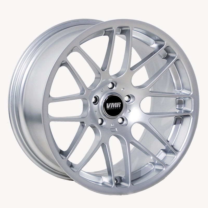 "VMR Wheels VB3 CSL Replica 19"" Silver Front Angle"