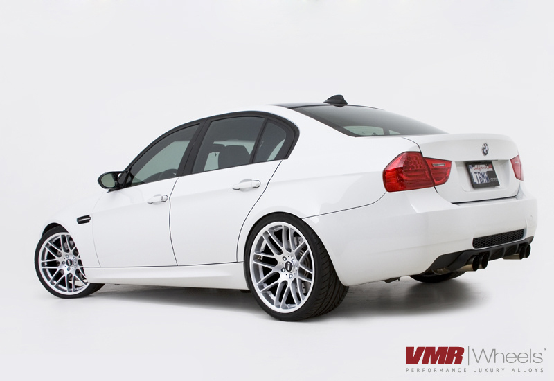 "VMR Wheels VB3 CSL Style 18"" Staggered on E90"