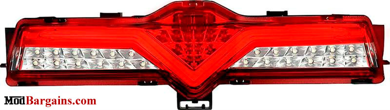 Valenti 3rd Brake Light Red & Red