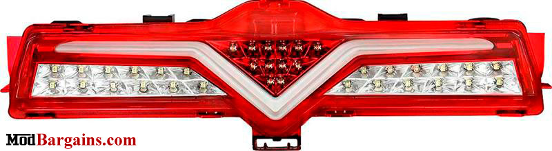 Valenti 3rd Brake Light Red & White
