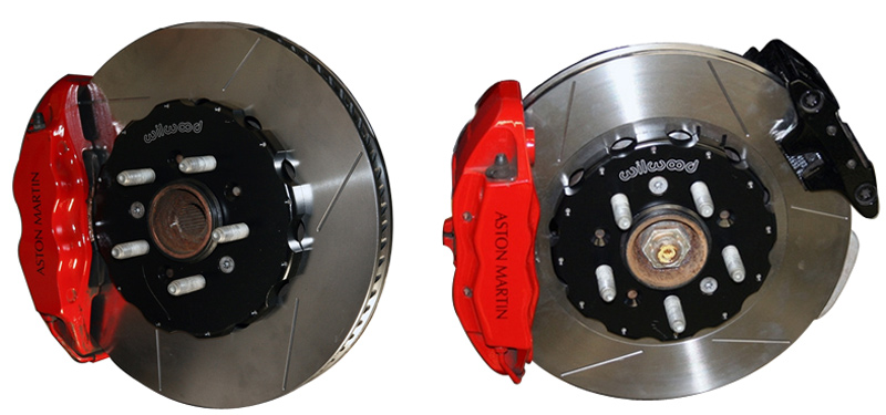 Velocity AP Wilwood 2-Piece Brake Rotors for Aston Martin DB9 V8 Vantage Overall