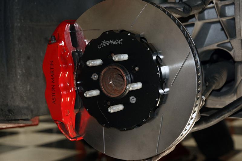 Velocity AP Wilwood 2-Piece Brake Rotors for Aston Martin DB9 V8 Vantage Front
