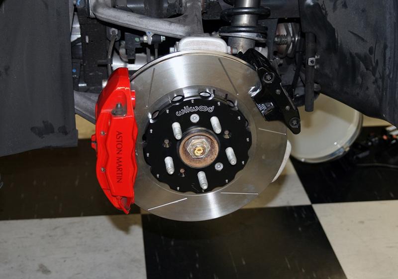 Velocity AP Wilwood 2-Piece Brake Rotors for Aston Martin DB9 V8 Vantage Rear