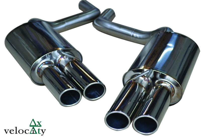 Velocity AP Jaguar XJ Supercharged Sports Exhaust System View 2