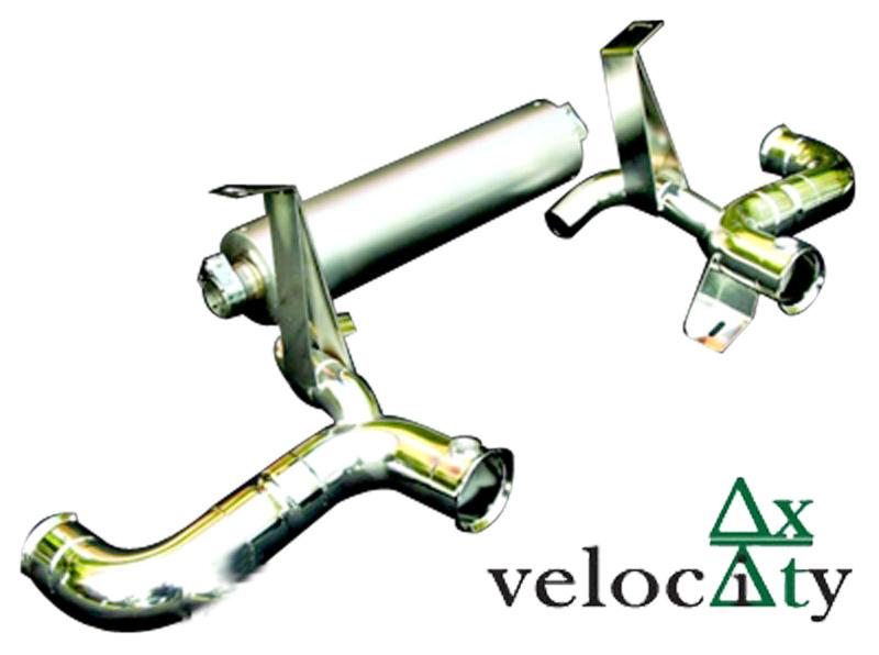 Velocity AP Lamborghini Gallardo Titanium Exhaust View 2