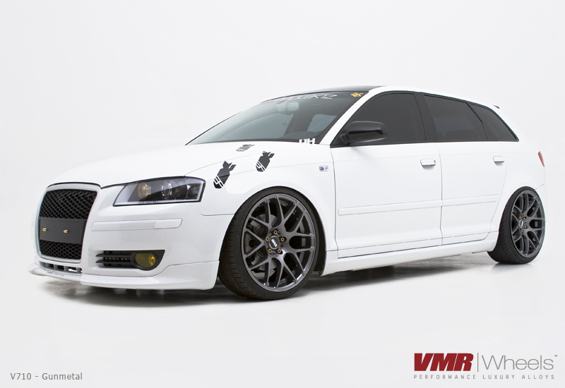 VMR Wheels V710 Gunmetal on Audi A3
