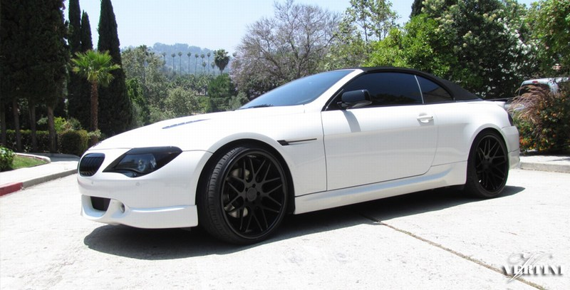 Matte Black Vertini Magic Wheels Bmw E64 M6