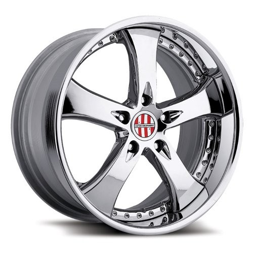 Victor Equipment Turismo Wheels Chrome