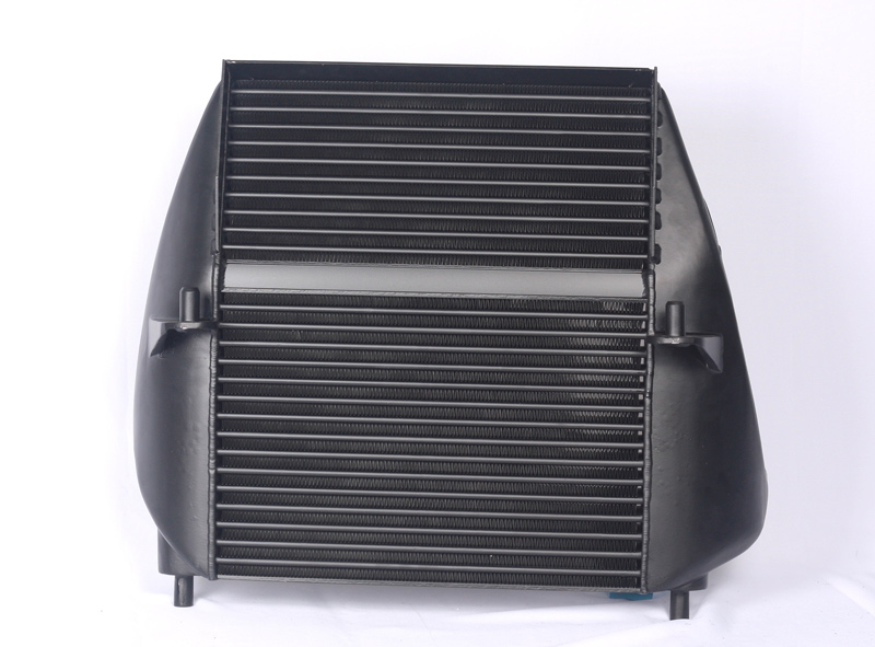 ford f-150 13 ecoboost evo intercooler with valve mount