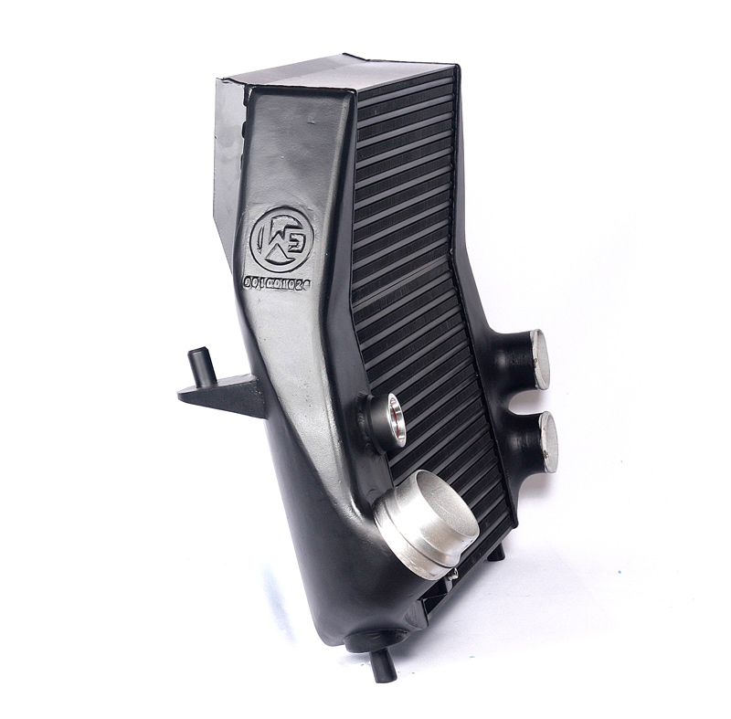 ford f-150 13 ecoboost evo intercooler with valve mount 2