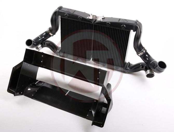 Wagner Tuning Nissan GT-R Competition Intercooler carbon fibre fiber black inter cooler gtrlife