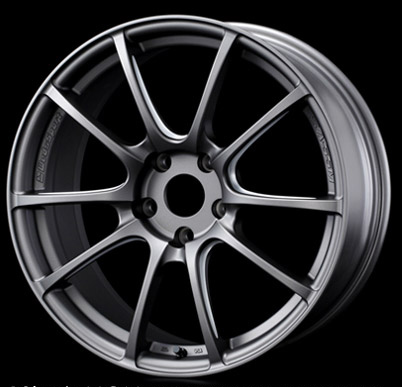 WedsSport SA55M Wheel Matte Gray Machining