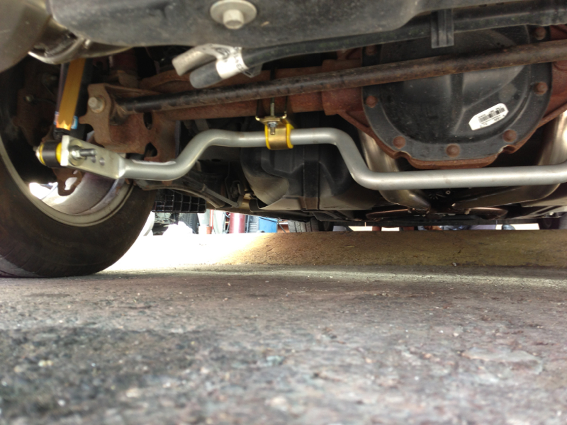 whiteline rear sway bars mustang