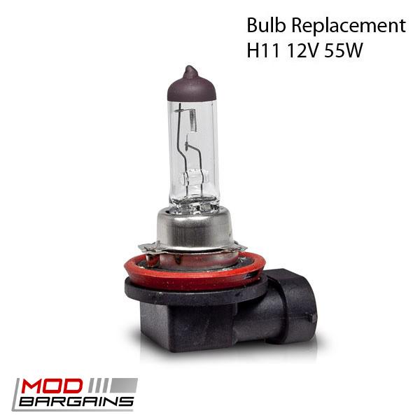 Winjet H11 Bulbs for OEM Fog Lights 2006-2008 BMW 3-Series E90
