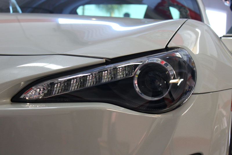 Winjet headlights for frs and brz modbargains installed