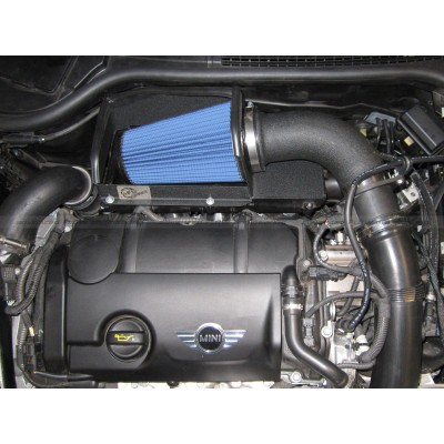 aFe Magnum Force Pro 5R Stage 2 Intake System for Mini Cooper S 1.6L Turbo Installed