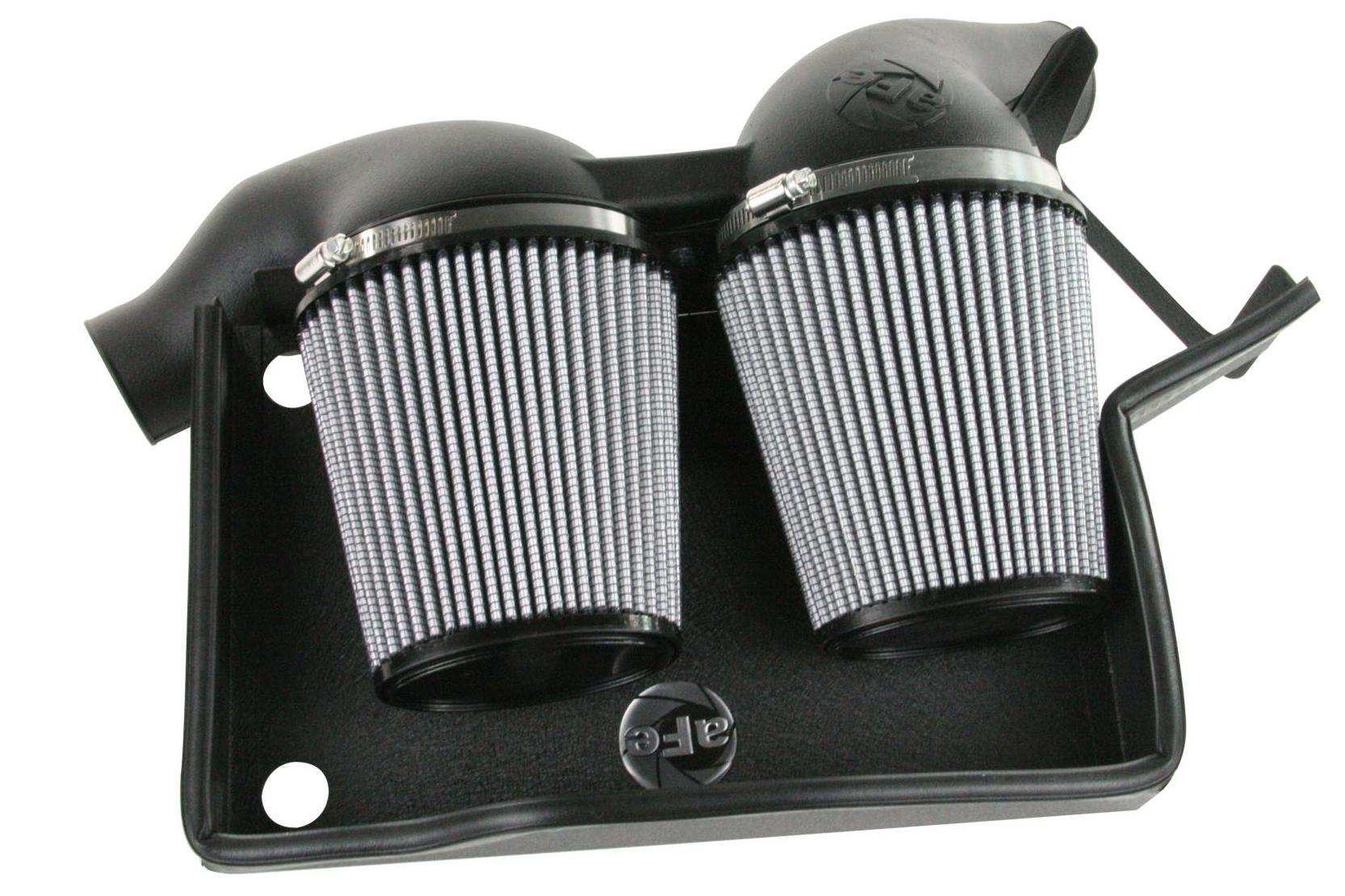 aFe Magnum FORCE Stage 2 Si Air Intake for 2006-10 BMW 135i/1M/335i/535i/Z4 N54 [E82/E90/E92/E60] 1