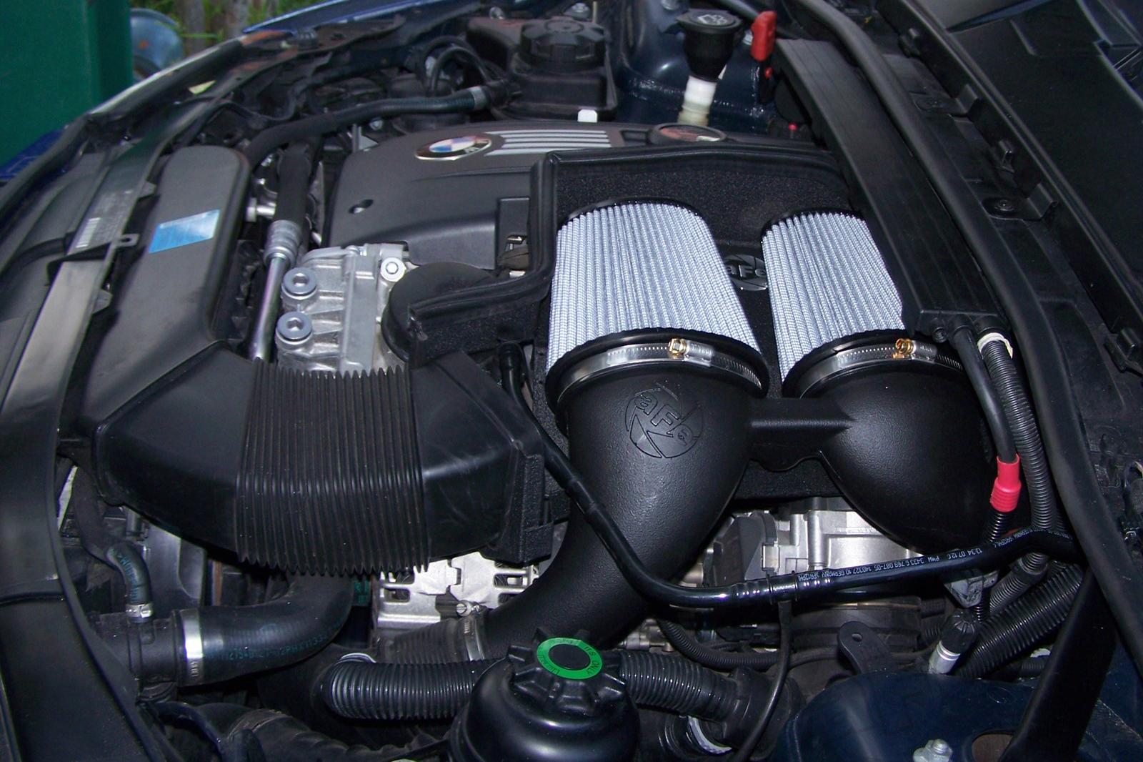 aFe Magnum FORCE Stage 2 Si Air Intake for 2006-10 BMW 135i/1M/335i/535i/Z4 N54 [E82/E90/E92/E60] 2