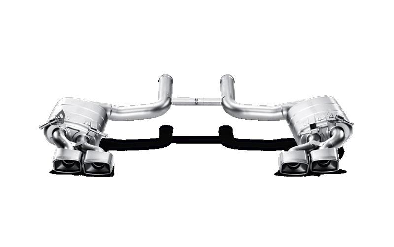 Akrapovic Full Titanium Exhaust System for 2008-2012 Mercedes C63 AMG (C204) [S-MEW204AMG]