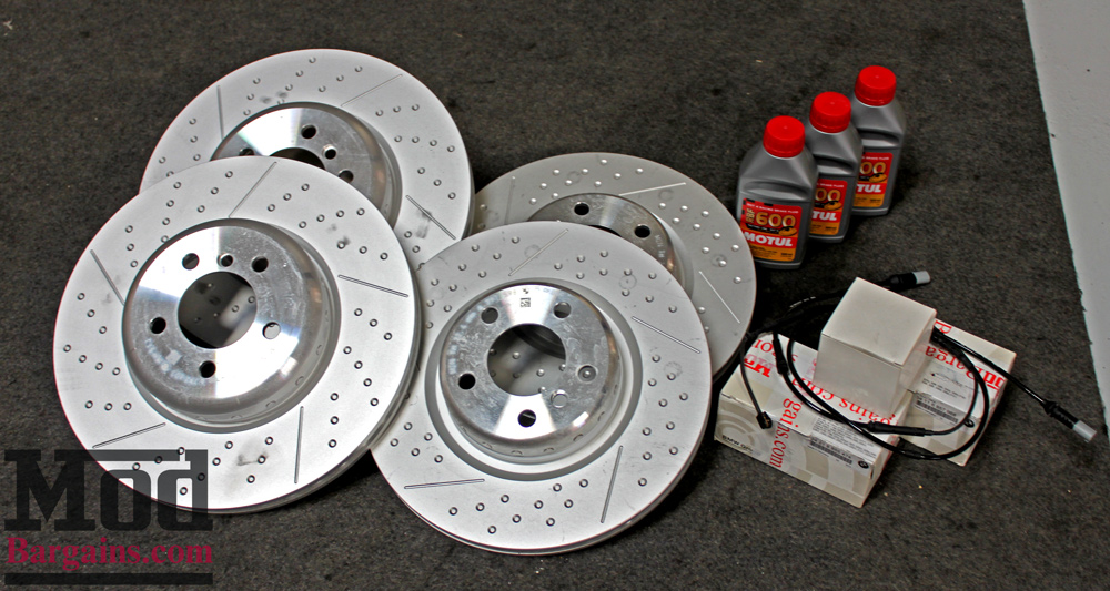 BMW M Performance Big Brake Kit for 2012+ BMW 328i/335i [F30] 34112221445/34206797600