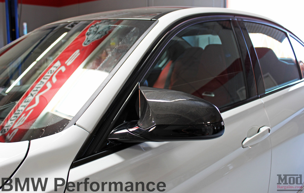 BMW M Performance Carbon Fiber Mirror Covers for 2014+ BMW M3 M4 [F80/F82]