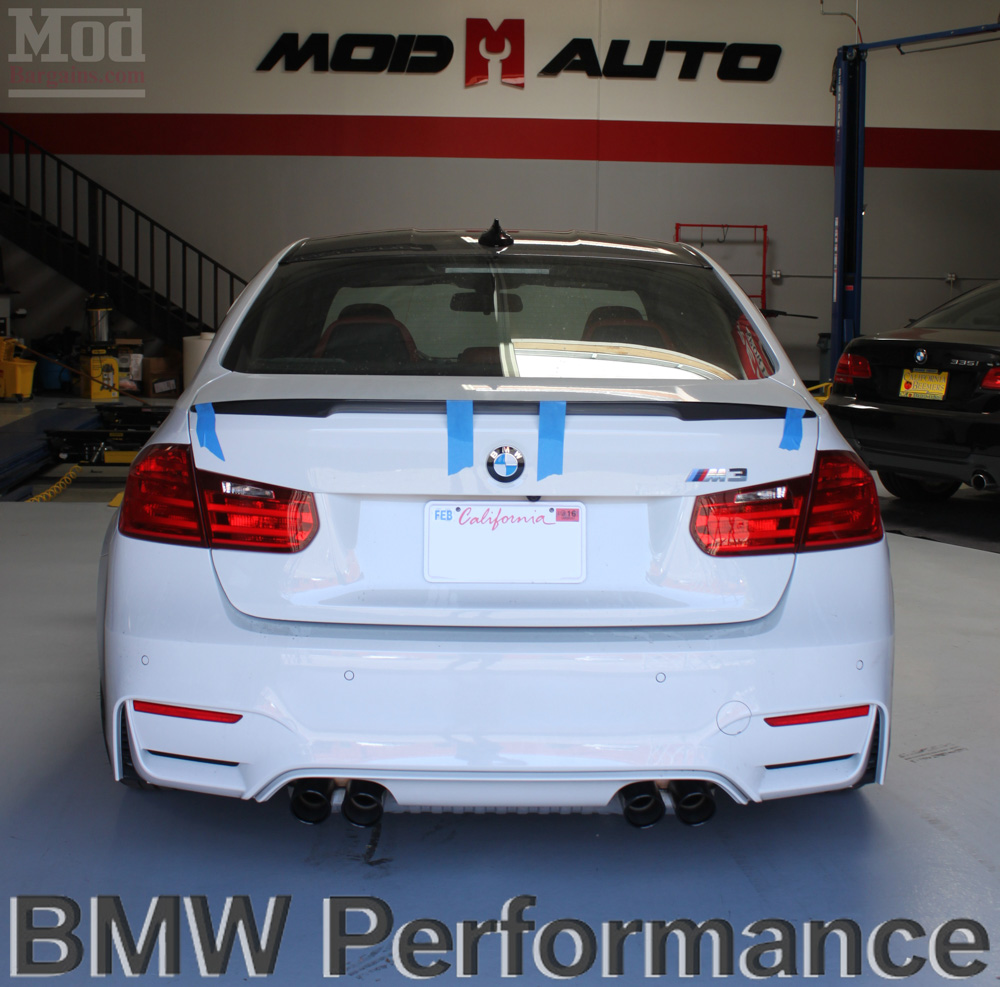 BMW M Performance Exhaust System for F80/F82 M3 & M4