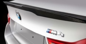 BMW M Performance Spoiler for 2015+ BMW M3 & M4 [F80/F82]