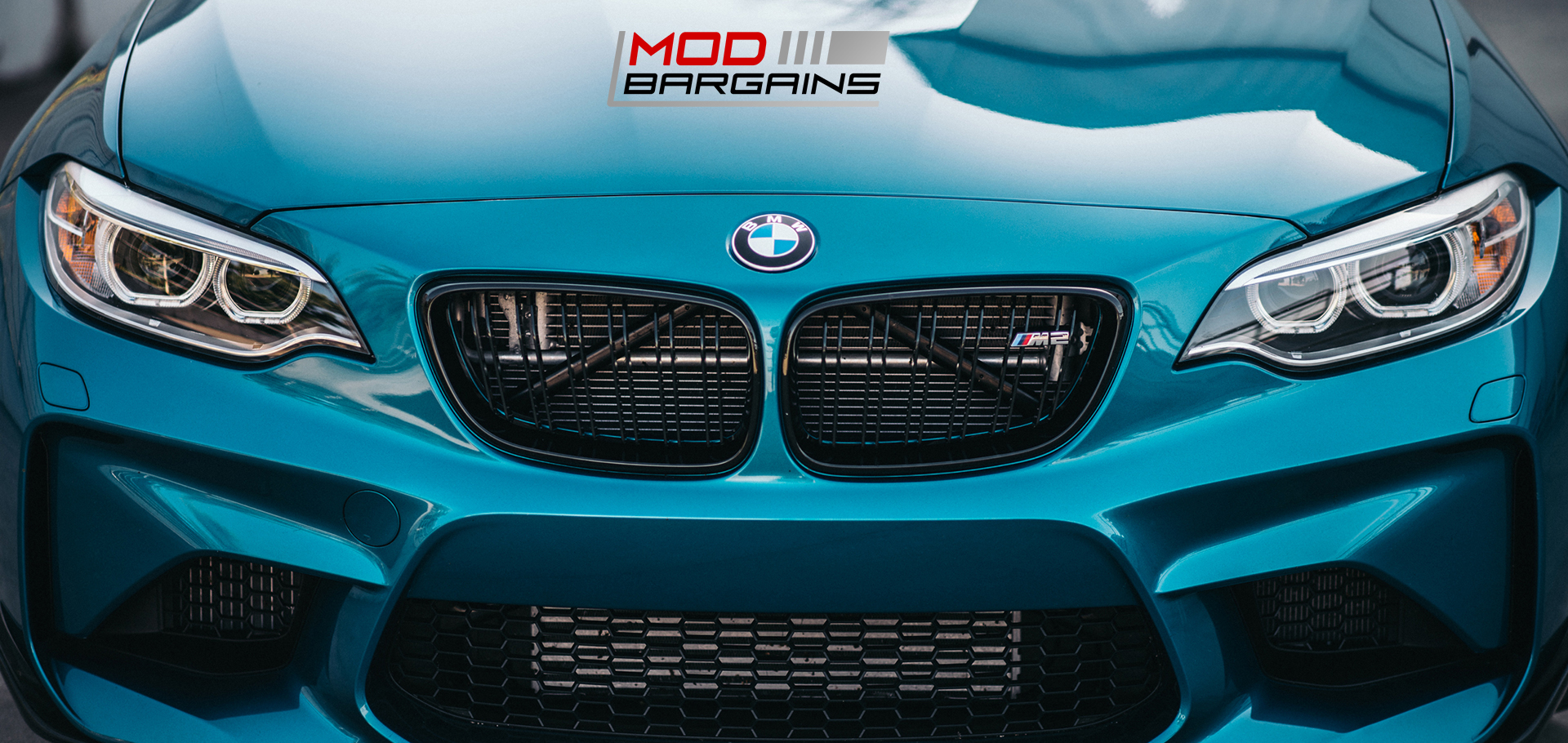 Gloss Black Kidney Grilles BMW M2 F87