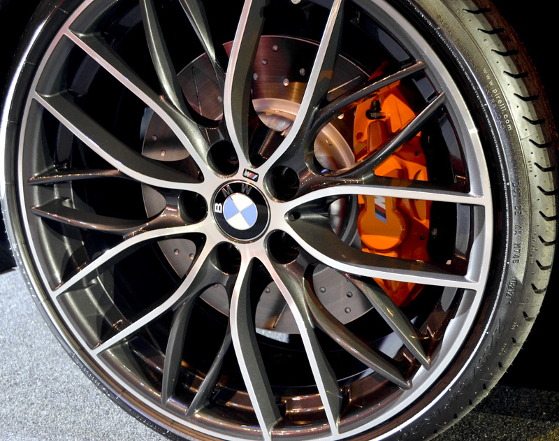 The BMW M Performance Double Spoke 405M 20 Wheels Add A More Aggressive Styling To F30 3 Series