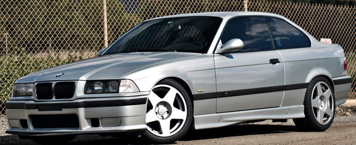 BMW E36 with fifteen52 Tarmac Wheels