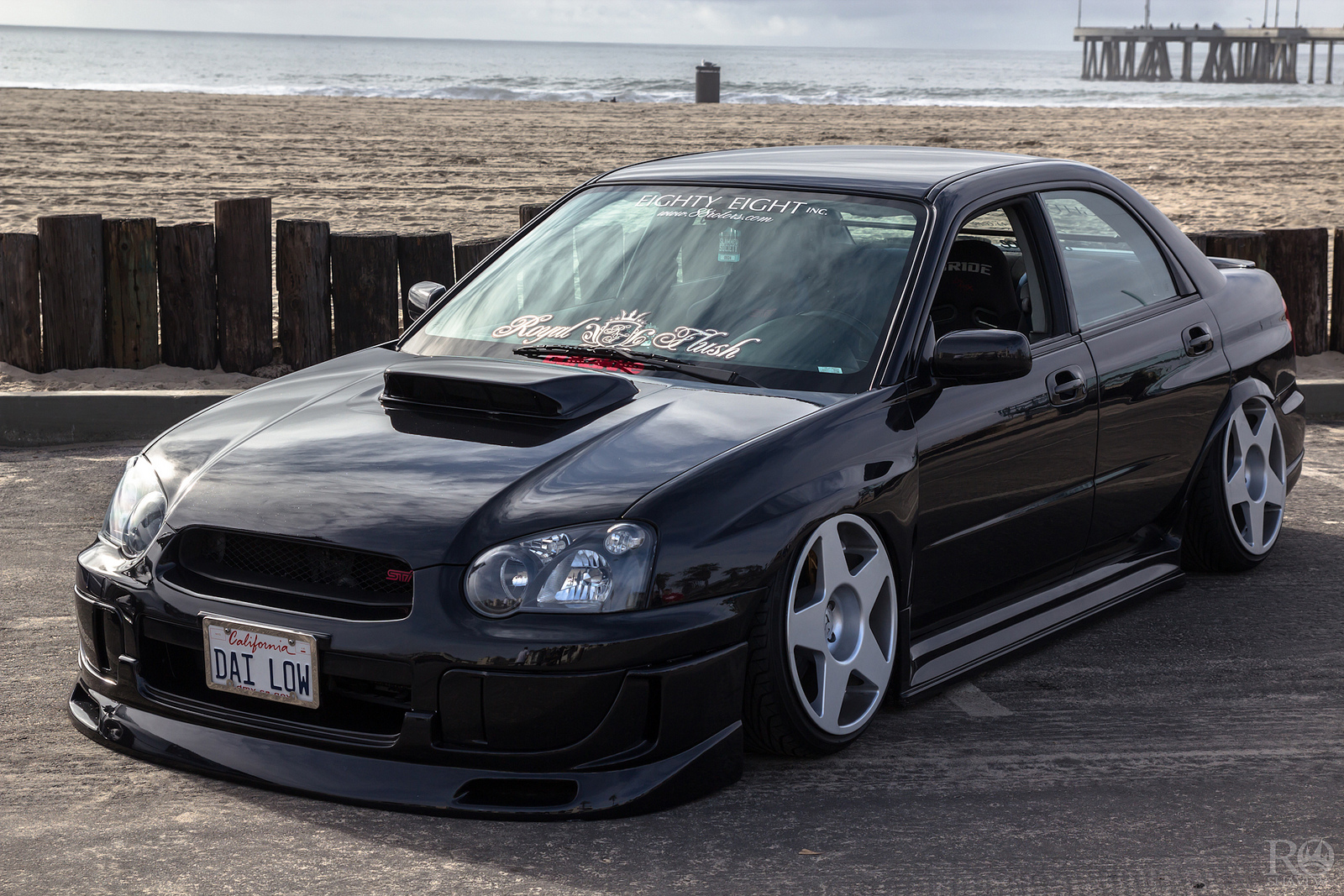 Subaru WRX with fifteen52 Tarmac Wheels