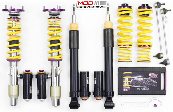 KW Suspension 3-way Clubsport Coilovers for 2016+ BMW M2 [F87]  (397202BH)