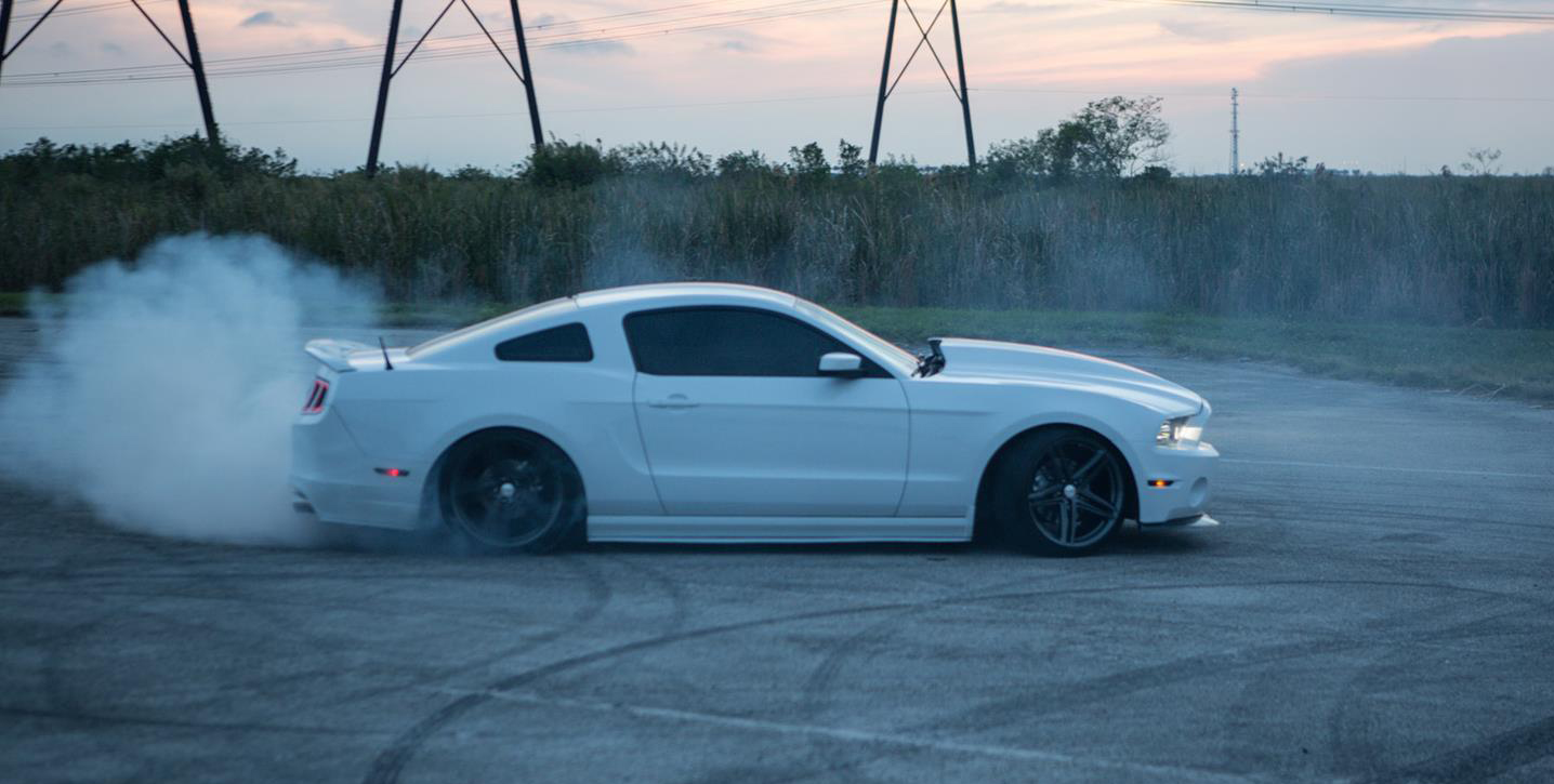 Vossen VFS-5 Installed on Ford Mustang (6)