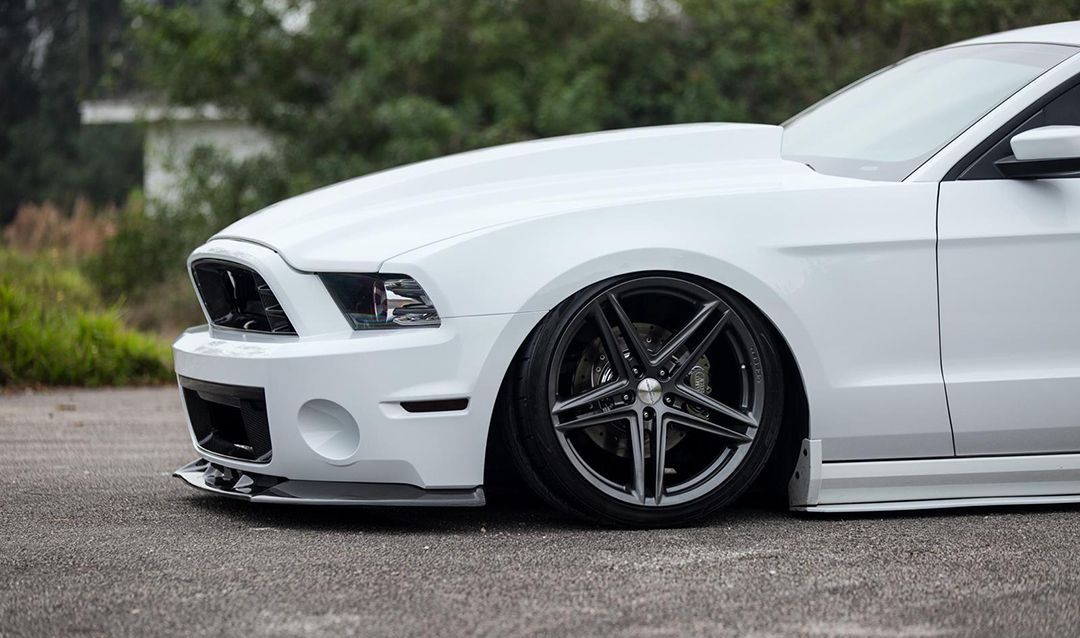 Vossen VFS-5 Installed on Ford Mustang (5)