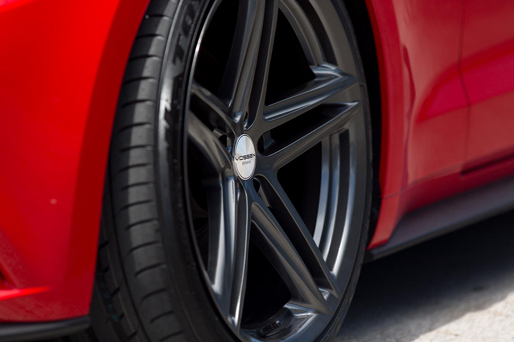 Vossen VFS-5 Installed on Ford Mustang (3)