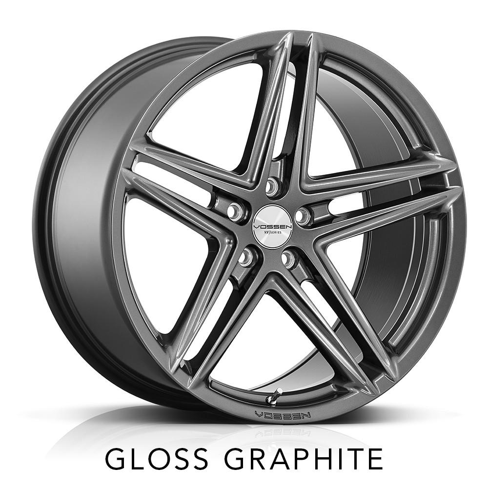 infiniti q50 vossen vfs5 vfs-5 5 spoke split 5 spoke graphite